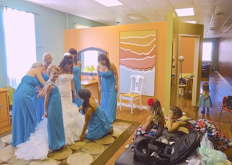 Loft Bridal Party