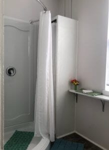 Shower in Bedroom 1